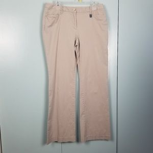Michael Kors tan wide legs pants size 12 -C7